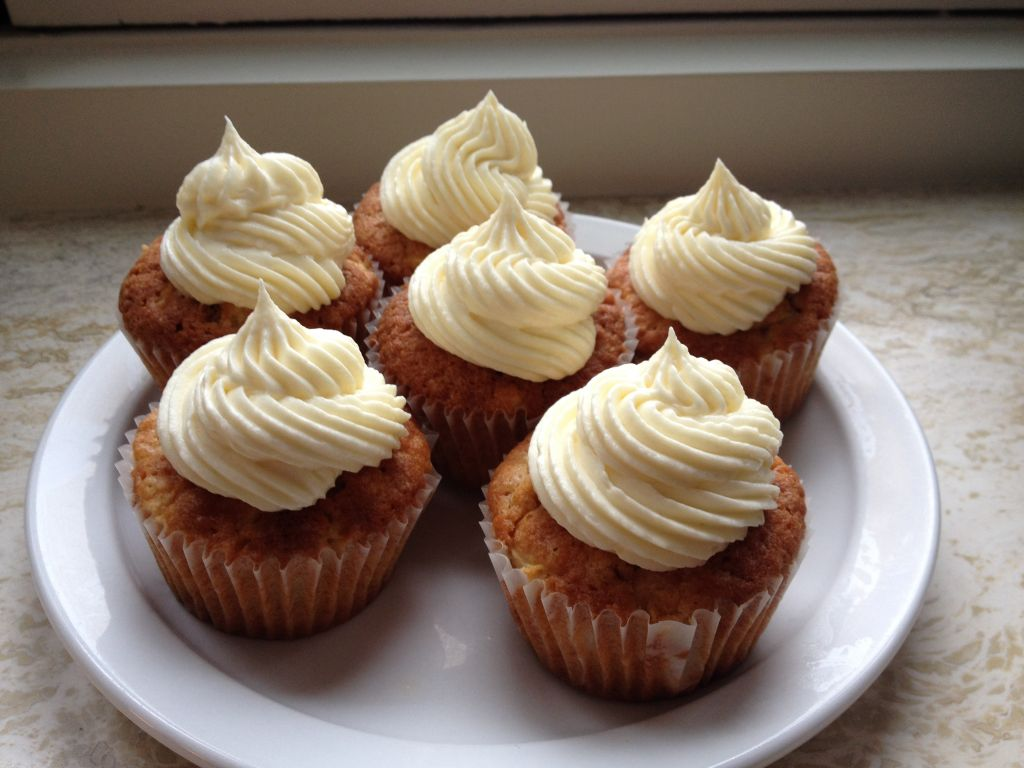Appel cupcakes met witte chocolade topping - zo-ofzo.nl