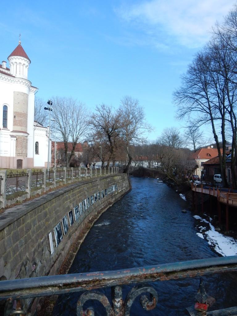 Vilnius rivier - www.zo-ofzo.nl