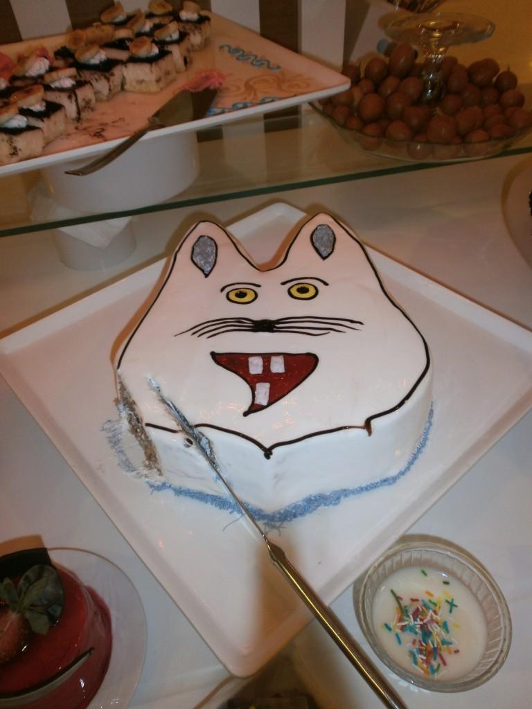 Cat cake - www.zo-ofzo.nl
