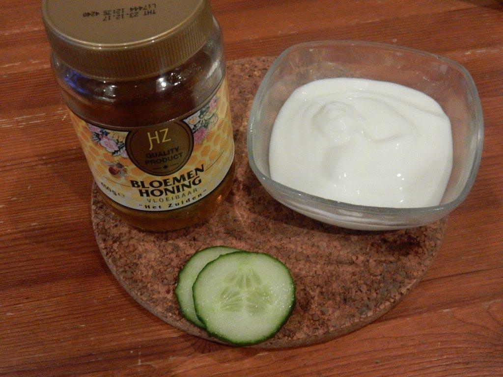 Maskertje van Yoghurt met Honing - www.zo-ofzo.nl