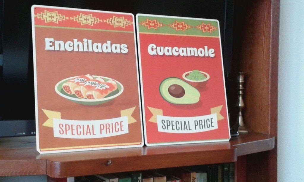 Bordjes Enchiladas Guacamole - www.zo-ofzo.nl