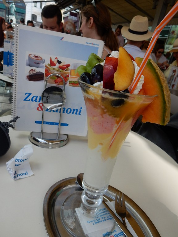 Sorbet met fruit - www.zo-ofzo.nl